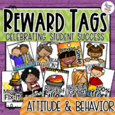 Brag Tags - Attitude & Behavior - Classroom Management - Reward System