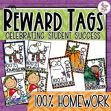 Brag Tags - Homework - 100% Homework tags