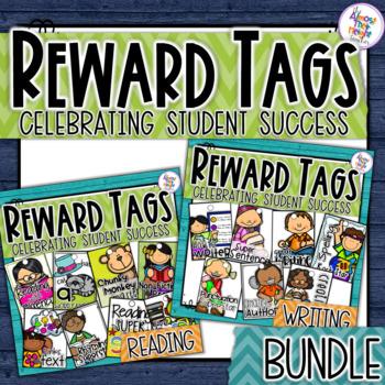 Brag Tags - Reading & Writing Bundle - Classroom Management/Reward System