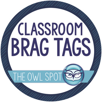 Brag Tags: Classroom rewards and incentives