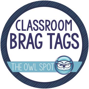 Brag Tags: Classroom rewards and incentives