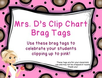 Brag Tags - Clip Chart