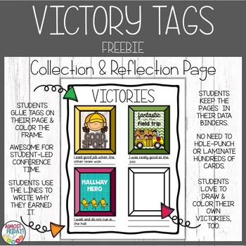 Brag Tags Collection and Reflection Page