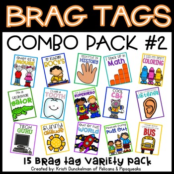 Brag Tags (Combo Pack #2)