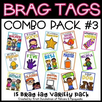 Brag Tags (Combo Pack #3)