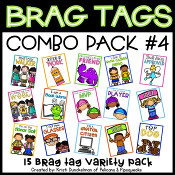 Brag Tags (Combo Pack #4)