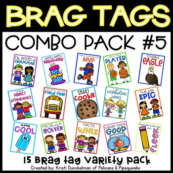 Brag Tags (Combo Pack #5)