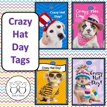 Brag Tags : Crazy Hat Day