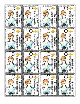Brag Tags Division Facts 0-12 Color Bundle