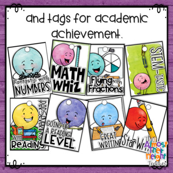 Brag Tags - Dot Dudes General School Day Tags