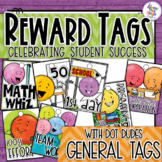 Reward Tags - Dot Dudes General School Day Tags