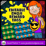 Editable Emoji Reward Tags (Back to School Emoji Reward Tags)