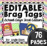 Brag Tags Editable School Days First Edition (73 templates)