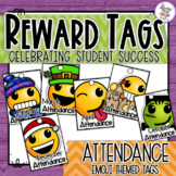 Attendance Emoji Themed Reward Tags