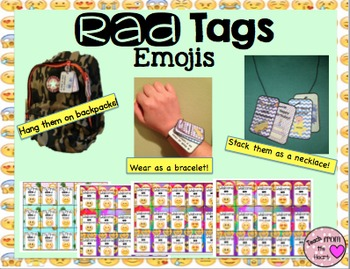 Brag Tags Emoji FREEBIE!