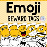 Emoji and Hashtag Reward Tags
