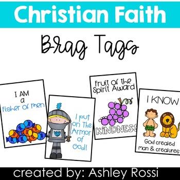 Brag Tags For Christian Faith