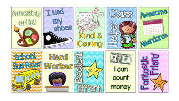 Pre-K & Kindergarten Brag Tags!