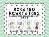 Reward Tags For Read 180  (For Reading Word Counts)