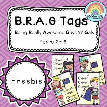 Brag Tags - Free Download - Aussie Version