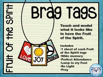 Brag Tags: Fruit of the Spirit Set