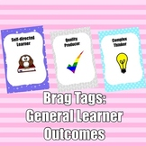 Brag Tags: General Learner Outcomes Set