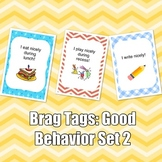 Brag Tags: Good Behavior Set #2