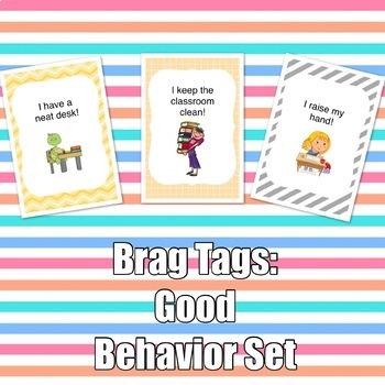 Brag Tags: Good Behavior Set
