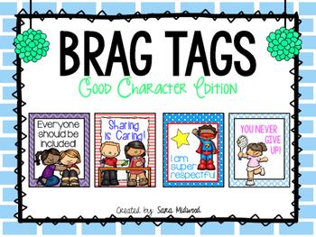 Brag Tags: Good Character Edition