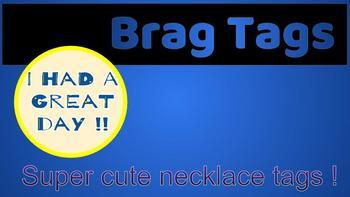 Brag Tags (Good behavior)