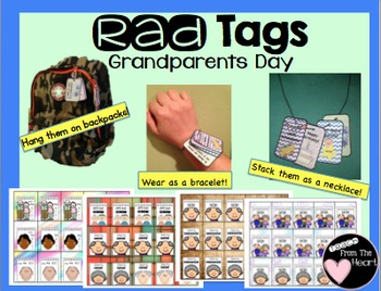 Brag Tags Grandparents Day