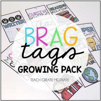 Brag Tags Growing Pack