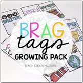 Brag Tags Growing Pack