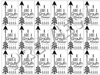 Brag Tags.. Growth Mindset & Back to School