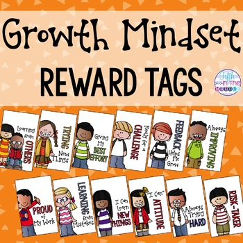 Growth Mindset and Positive Thinking Brag Tags