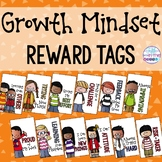 Growth Mindset and Positive Thinking Reward Tags