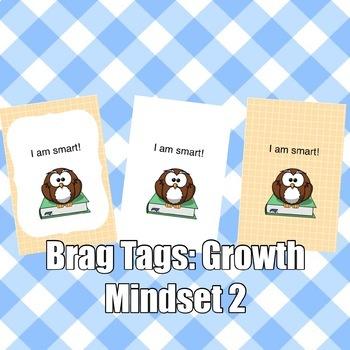 Brag Tags: Growth Mindset Set #2
