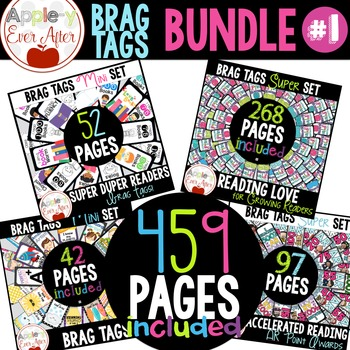 Brag Tags - Happy School Bundle # 1