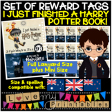 "BRAG TAGS - Harry Potter - A3, 4pp - ""I Just Finished a Ha"