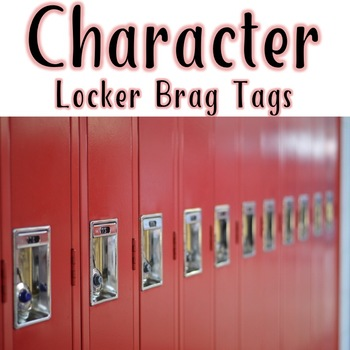 CBT Inspired Brag Tags HS Style: Locker Bling for School Climate Change