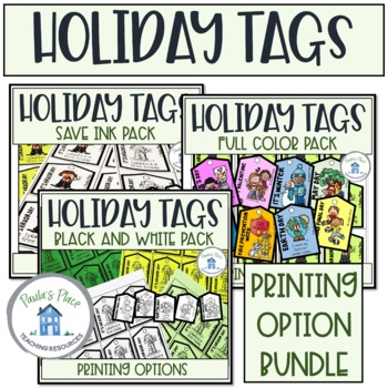 Holiday Reward Tag Bundle