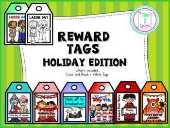 Brag Tags Holiday Edition