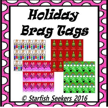Brag Tags - Holiday Set