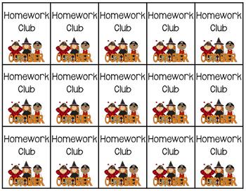 Brag Tags- Homework Club