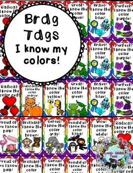 Brag Tags: I Know My Colors