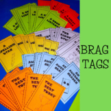 Brag Tags - Ink Friendly in Black and White