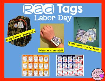 Brag Tags Labor Day FREEBIE