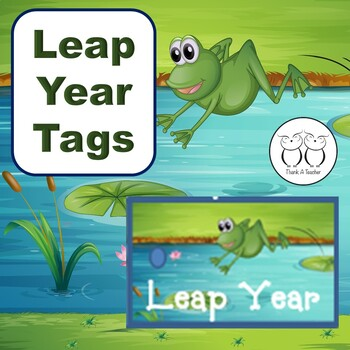 Brag Tags: Leap Year