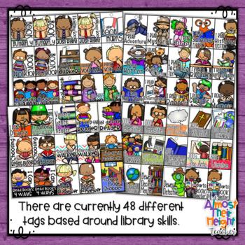 Brag Tags - Library Skills