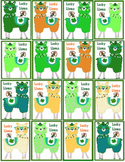Brag Tags - Lucky Llama and 1 Coloring Page - St Patrick's Day